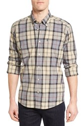 Barbour Men's Herbert Tailored Fit Plaid Sport Shirt