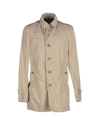 Geospirit Coats And Jackets Full Length Jackets Men Beige