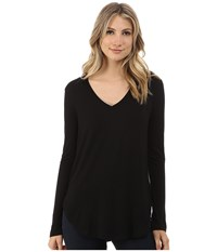 Culture Phit Kierra V Neck Top Black Women's Clothing
