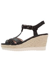 Refresh Platform Sandals Black