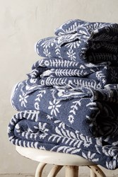 Anthropologie Hanna Towel Collection Slate
