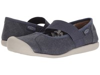 Keen Sienna Mj Canvas Crown Blue Women's Flat Shoes