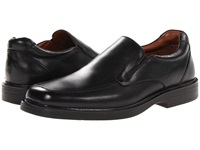 Johnston And Murphy Penn Moc Slip On Black Waterproof Full Grain Men's Slip On Dress Shoes