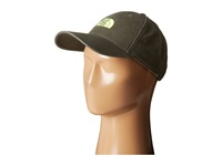 The North Face 68 Classic Hat Black Ink Green Safety Green Caps Olive