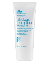 Bliss Fabulous Face Lotion With Spf 15 No Color
