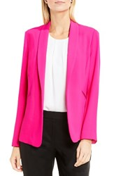 Vince Camuto Women's Shawl Collar Jacket Electric Pink
