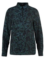 More And More Blouse Dark Forest Dark Green
