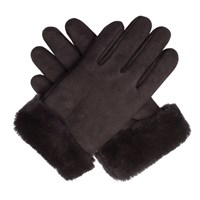Dents Women S Sheepskin Gloves Brown