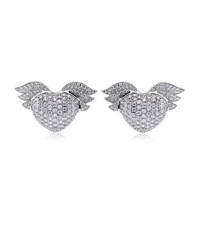 Theo Fennell Winged Baby Earrings