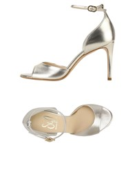 Giancarlo Paoli Sgn Sandals Platinum