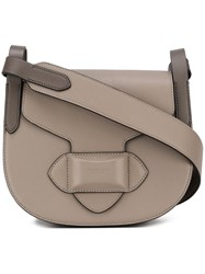 Michael Kors Small 'Daria' Saddle Bag Nude Neutrals