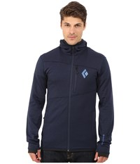 Black Diamond Compound Hoodie Captain Men's Sweatshirt Blue