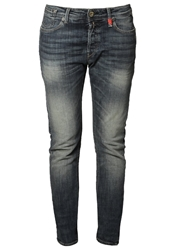 Replay Leena Relaxed Fit Jeans Stonewash Denim Bleached Denim