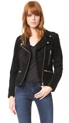 Just Female Direct Suede Jacket Black
