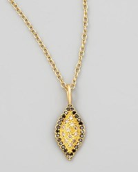Jamie Wolf Scallop Pave Marqus Necklace