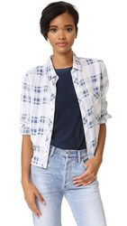 Rails Dana Plaid Button Down Shirt Pigment Plaid
