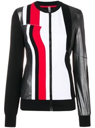 No Ka' Oi Colour Block Sport Jacket Black
