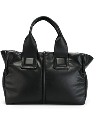 Moncler Zipped Tote Black