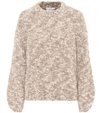 Co Wool Blend Sweater Brown