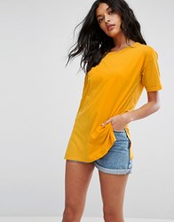 Asos Ultimate Easy Boyfriend T Shirt Bright Yellow