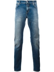 Closed Stone Washed Slim Jeans Blue