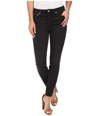 Free People Payton High Rise Skinny In Black Black Women's Jeans