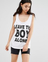 Boy London Vest White