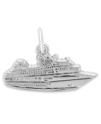 Rembrandt Charms Sterling Silver Cruise Ship Charm