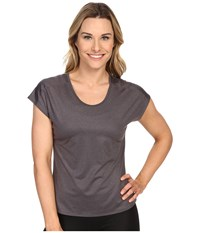 Black Diamond Pale Fire Tee Slate Women's T Shirt Metallic