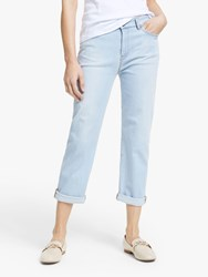 Max Mara Weekend Olea Cropped Light Jeans Midnight Blue