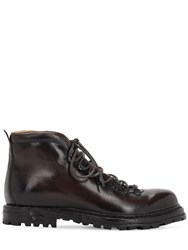 Officine Creative Kontra Leather Boots Brown
