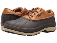 Skechers Robards Moorcroft Brown Rubber Shell Crazyhorse Upper Men's Shoes Brown Rubber Shell Crazyhorse Upper