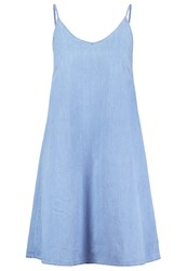 Evenandodd Denim Dress Blue Denim