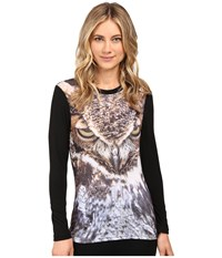 686 Tech Long Sleeve Shirt Owl Women's Clothing Brown