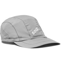 Soar Running Shell Cap Gray