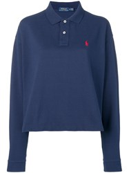Polo Ralph Lauren Long Sleeved Shirt Blue
