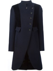 Marc By Marc Jacobs Military Coat Blue