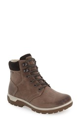 Ecco Women's 'Gora' Gore Tex Waterproof Lace Up Boot Stone Black Oiled Nubuck