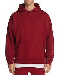 The Narrows Oversized Hoodie 100 Exclusive Burgundy