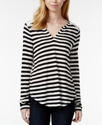 Maison Jules Striped Pullover Top Only At Macy's