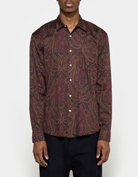Our Legacy Initial Shirt Red Paisley