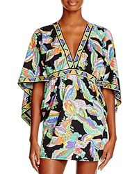Trina Turk Sea Garden Tunic Swim Cover Up