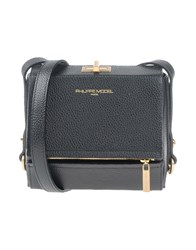 Philippe Model Handbags Black