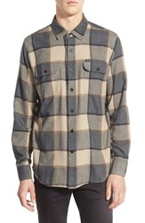 Men's Obey 'Belmont' Trim Fit Long Sleeve Plaid Flannel Shirt