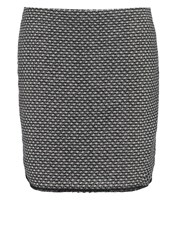 Opus Ravenna Mini Skirt Raven Grey Anthracite