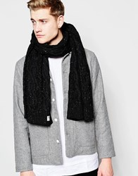 Jack And Jones Jack And Jones Dot Knit Scarf Black