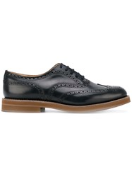 Church's Classic Lace Up Oxford Shoes Blue