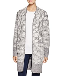 Twelfth St. By Cynthia Vincent Twelfth Street By Cynthia Vincent Long Jacket Sweater Grey