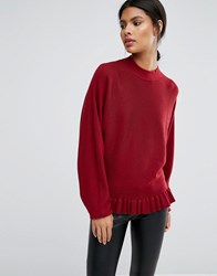 Y.A.S Popa Knit Red