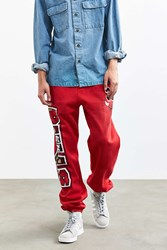 Mitchell And Ness Chicago Bulls Scottie Pippen Sweatpant Red